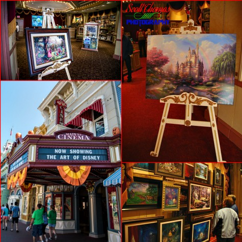 The Art of Disney store on Main Street USA in the Magic Kingdom, Walt Disney World, Orlando, Florida