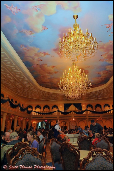 Photographing Inside The Be Our Guest Restaurant Allears Net