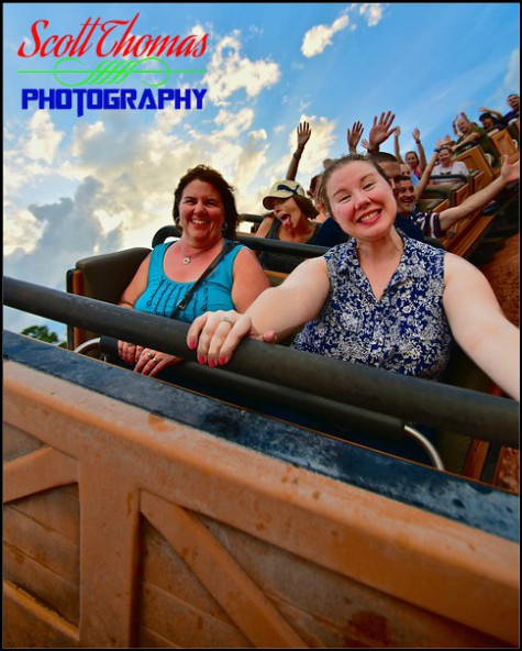 Riding Big Thunder