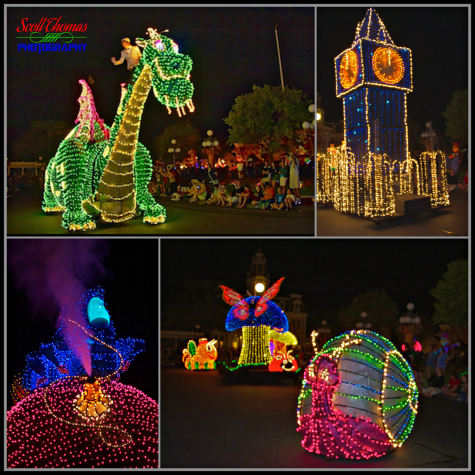 Magic Kingdom's Main Street Electrical Parade, Walt Disney World, Orlando, Florida
