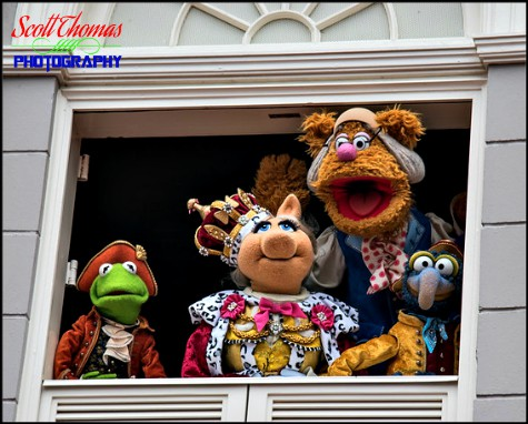The Muppet's Present...Great Moments in American History on Liberty Square at the Magic Kingdom, Walt Disney World, Orlando, Florida