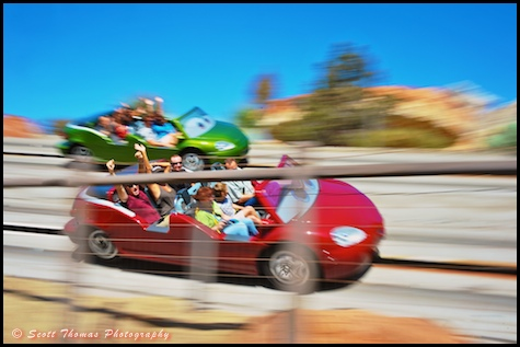 Radiator Springs Racers, Disney's California Adventure, Anaheim, California