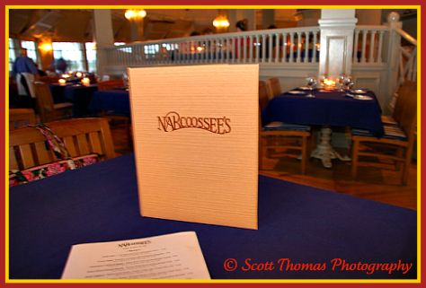 Narcoossee's restaurant at the Grand Floridian resort, Walt Disney World, Orlando, Florida.