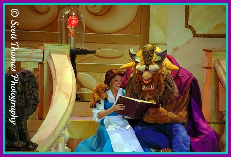 Beauty and the Beast, Live on Stage in Disney's Hollywood Studios, Walt Disney World, Orlando, Florida.