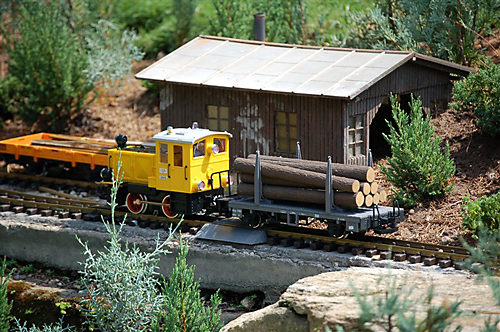 Miniature Train, Germany, Epcot
