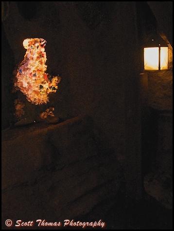 Gems found in the Mystery Mind on Tom Sawyer Island in the Magic Kingdom, Walt Disney World, Orlando, Florida.