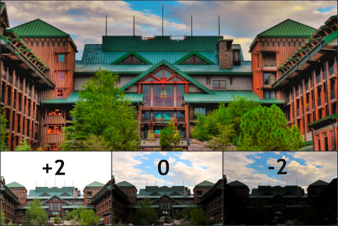 HDR Images of Disney's Wilderness Lodge, Walt Disney World, Orlando, Florida.