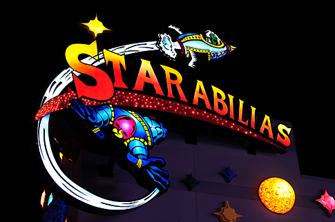 Starabilias sign in Downtown Disney