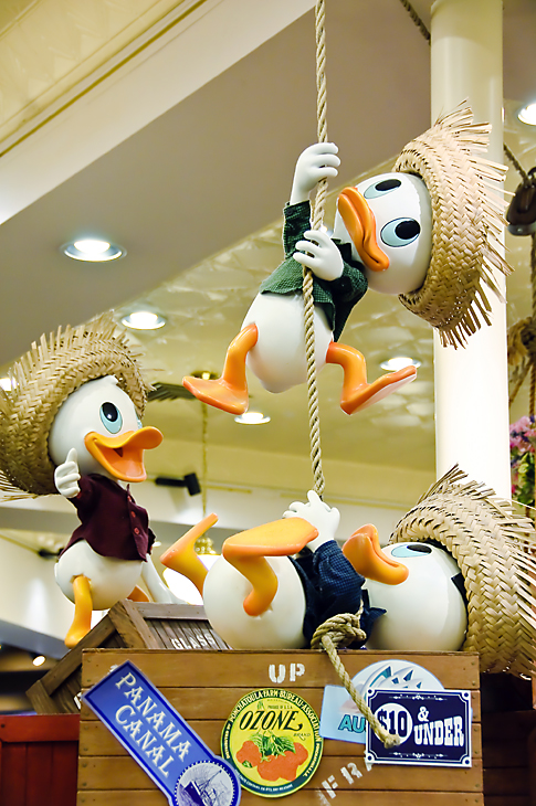 Huey, Louie and Dewey Duck