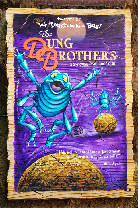 Dung Brothers Movie Poster at Disney's Animal Kingdom