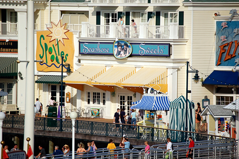 Sunshine Sweets on the Boardwalk
