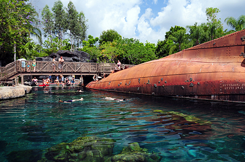 Shark Reef at Typhoon Lagoon