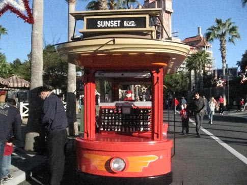 Electric 694 Gift Cart at Disney's Hollywood Studios