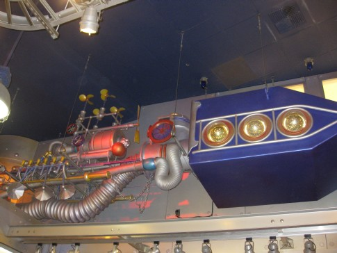 Dreamfinder's vehicle in MouseGears in Epcot