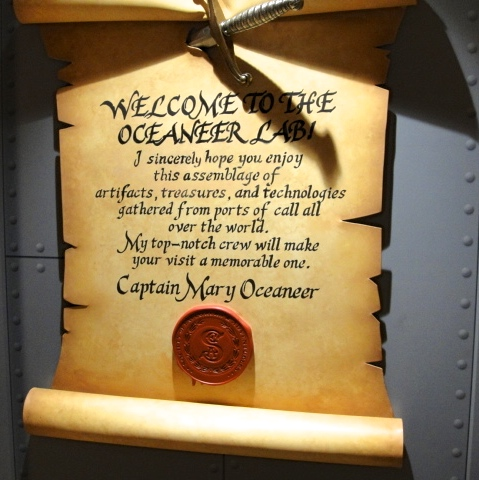 Captain Mary Oceaneer Disney Cruise LIne