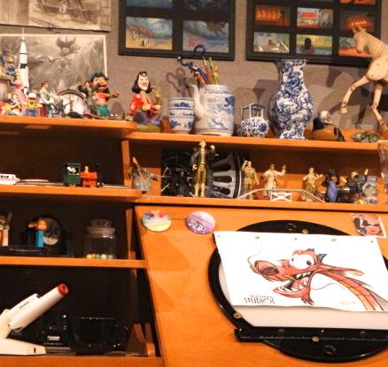 Hidden Mickeys At The Magic Of Disney Animation Disney S Hollywood Studios Allears Net