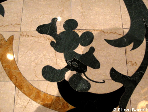 Grand Floridian Hidden Mickey