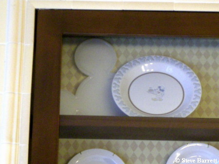 Mickey Shaped Serving Platter