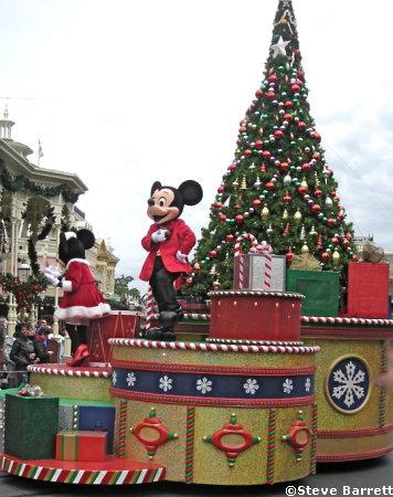 Christmas at the Magic Kingdom