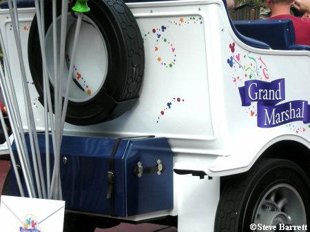 Grand Marshal Vehicle Magic Kingdom