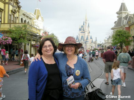 Vickie and Nona on Main Street