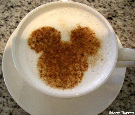 Cappuccino Mickey
