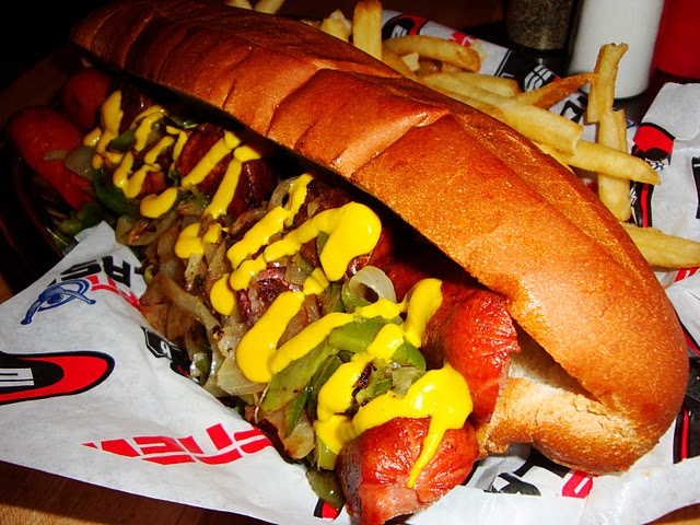ESPN Club Italian Hot Dog