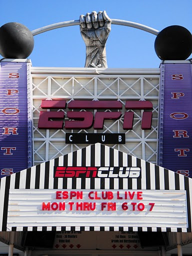 ESPN Club Sign