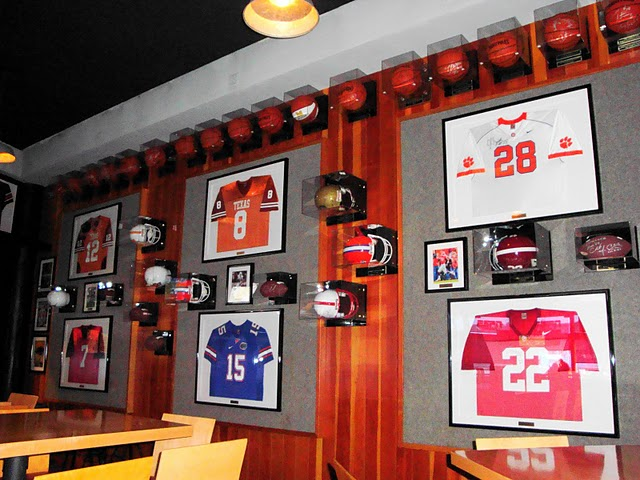 ESPN Club College Football Jerseys and Helmets