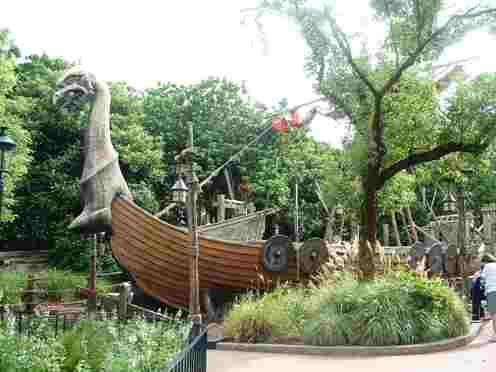 Epcot's Norway Viking Ship