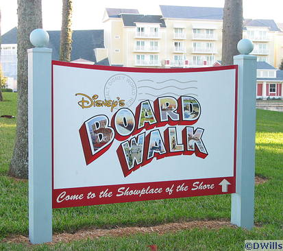 BoardWalk Sign