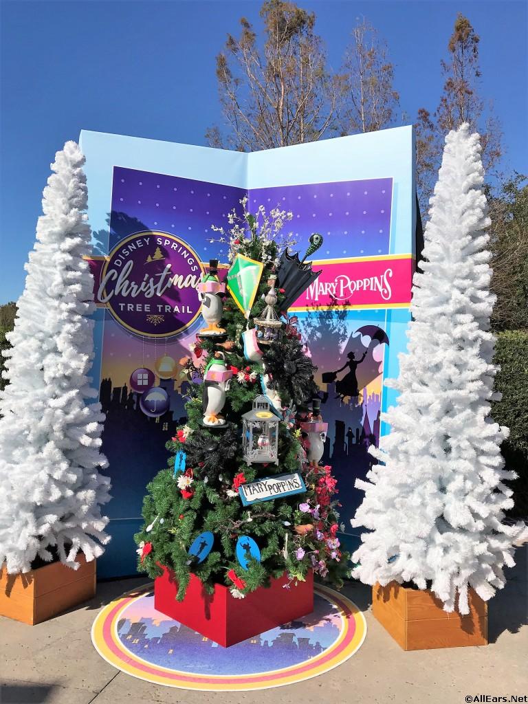 Christmas Tree Trail At Disney Springs Walt Disney World