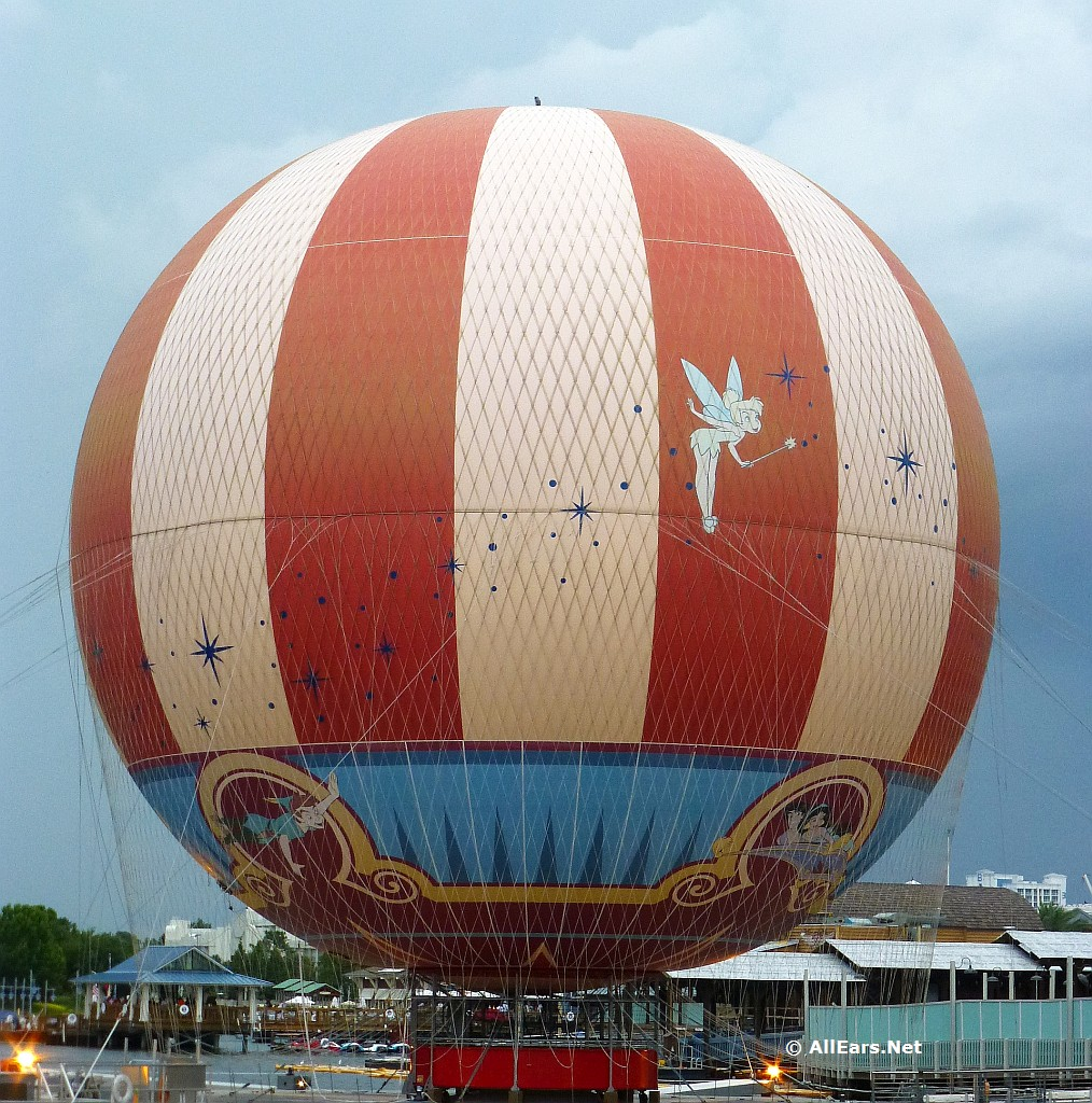 Characters in Flight Balloon