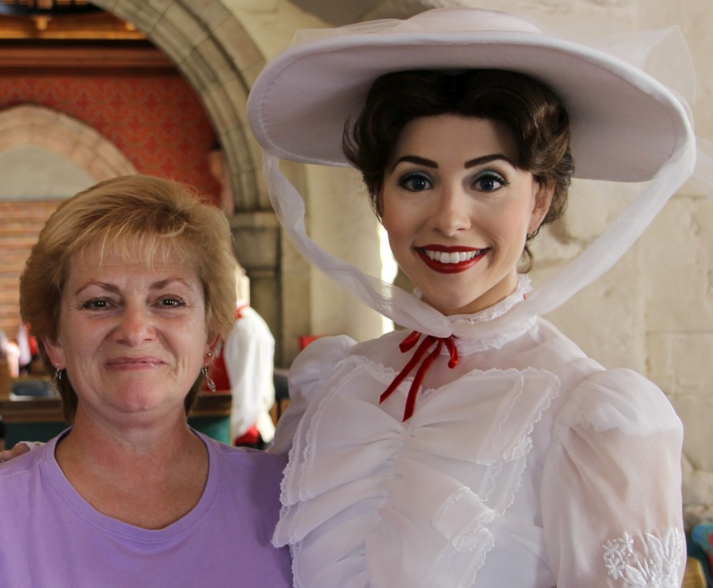 Deb K with Mary Popppins