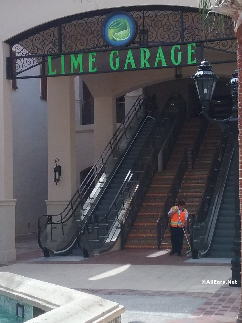 Lime Parking Garage