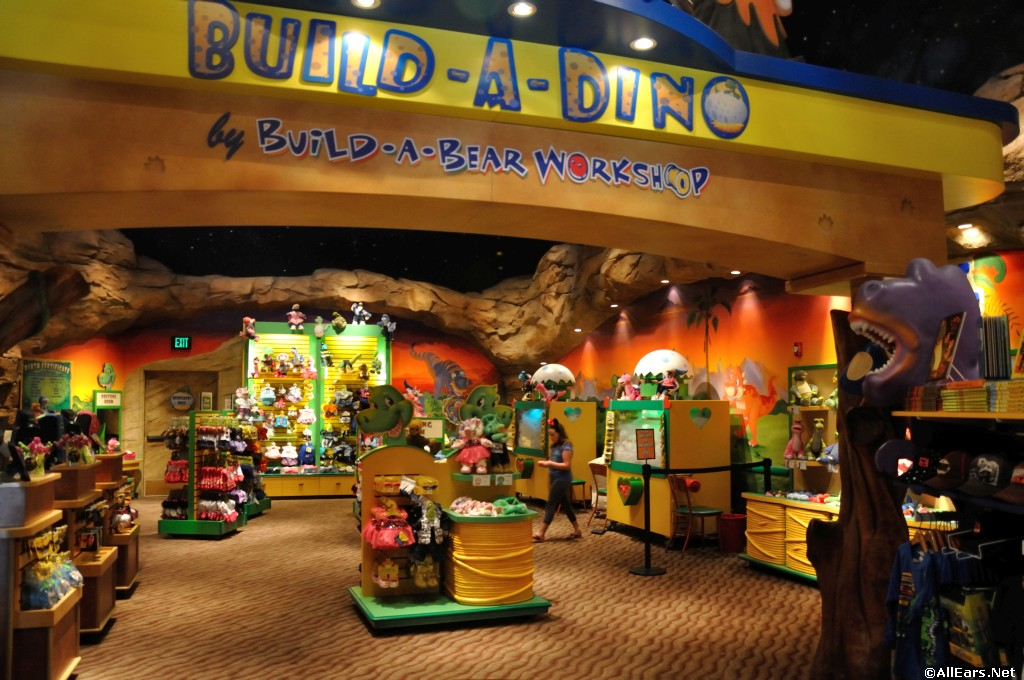 Build-A-Dino at Disney Springs T-Rex