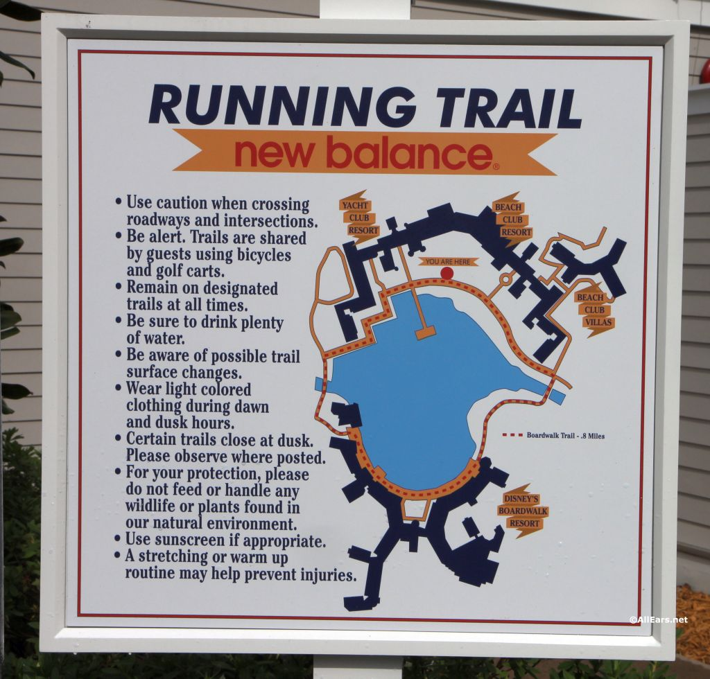 running jogging trails and tips