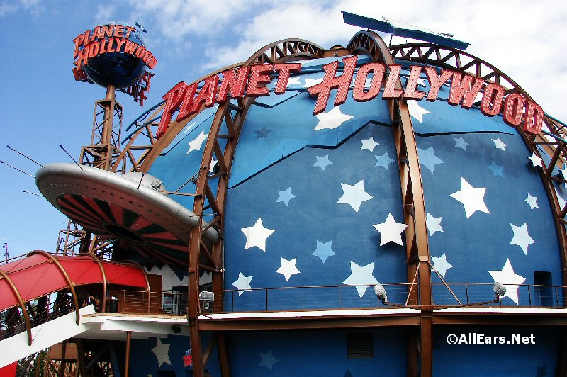 Planet Hollywood Exterior