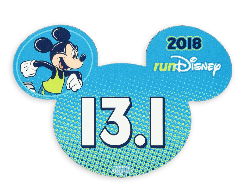 runDisney 2018 Car Magnet