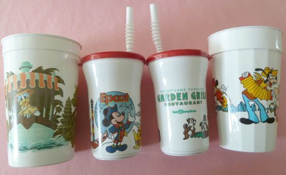 more souvenir cups