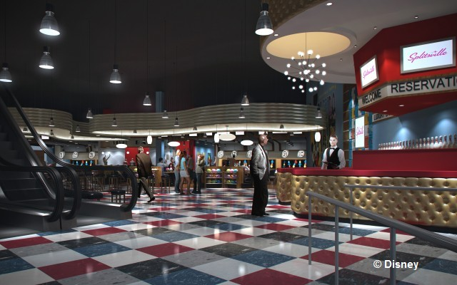 Splitsville Interior