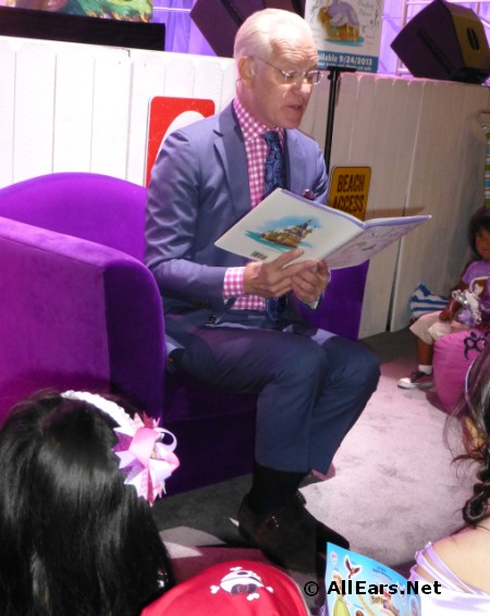 Tim Gunn Reading Sofia the First