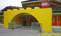 New Entrance to Lego Store