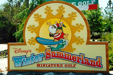 Winter Summerland Sign