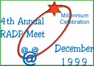 4th Annual RADP Meet Logo