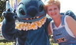 Deb Koma with Stitch