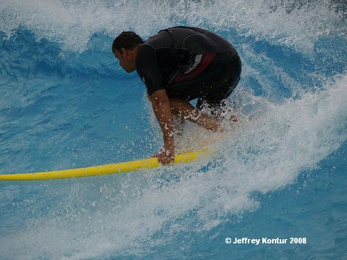 Surf School at Typhoon Lagoon