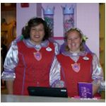 Cast members at Bibbidi Bobbidi Boutique