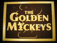 Golden Mickeys Signage