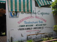 Rancho Copomo Sign